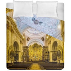 Church The Worship Quito Ecuador Duvet Cover Double Side (california King Size) by Nexatart