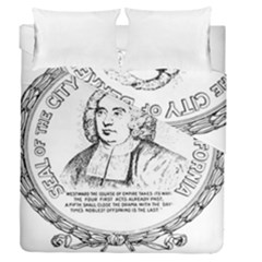Seal Of Berkeley, California Duvet Cover Double Side (queen Size) by abbeyz71