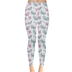 Cute Pastel Butterflies Leggings