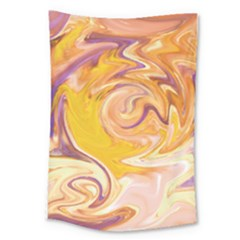 Yellow Marble Large Tapestry