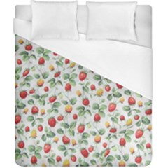 Strawberry Pattern Duvet Cover (california King Size)