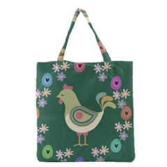 Easter Grocery Tote Bag