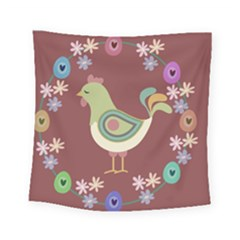 Easter Square Tapestry (small) by Valentinaart