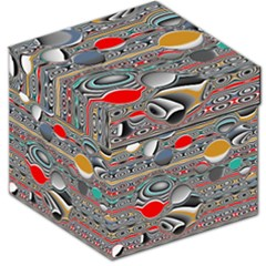 Changing Forms Abstract Storage Stool 12   by digitaldivadesigns
