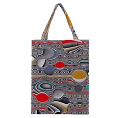 Changing Forms Abstract Classic Tote Bag by digitaldivadesigns