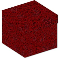 Red Roses Field Storage Stool 12   by designworld65