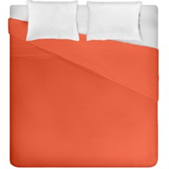 Trendy Basics   Trend Color Flame Duvet Cover Double Side (king Size) by tarastyle
