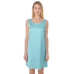Trendy Basics   Trend Color Island Paradise Sleeveless Satin Nightdress by tarastyle