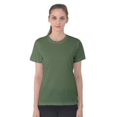 Trendy Basics   Trend Color Kale Women s Cotton Tee by tarastyle