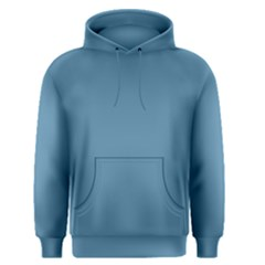 Trendy Basics   Trend Color Niagara Men s Pullover Hoodie by tarastyle