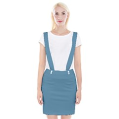 Trendy Basics   Trend Color Niagara Suspender Skirt by tarastyle
