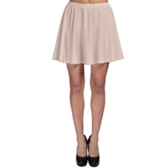 Trendy Basics   Trend Color Pale Dogwood Skater Skirt by tarastyle