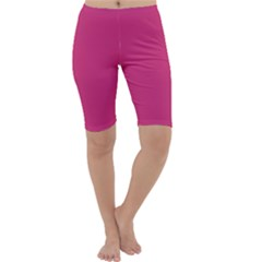 Trendy Basics   Trend Color Pink Yarrow Cropped Leggings  by tarastyle