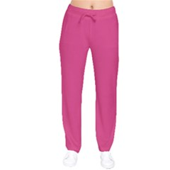 Trendy Basics   Trend Color Pink Yarrow Drawstring Pants by tarastyle