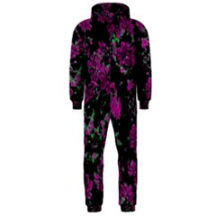 Floral Dreams 12 A Hooded Jumpsuit (men)  by MoreColorsinLife