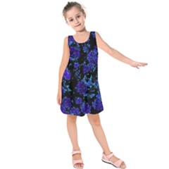 Floral Dreams 12 B Kids  Sleeveless Dress by MoreColorsinLife