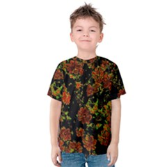 Floral Dreams 12 C Kids  Cotton Tee by MoreColorsinLife