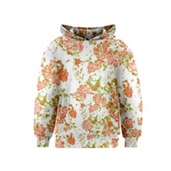 Floral Dreams 12 D Kids  Pullover Hoodie by MoreColorsinLife