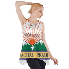 Seal Of Indian State Of Arunachal Pradesh  Side Drop Tank Tunic by abbeyz71