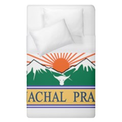 Indian State Of Arunachal Pradesh Seal Duvet Cover (single Size) by abbeyz71