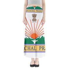 Indian State Of Arunachal Pradesh Seal Maxi Skirts by abbeyz71