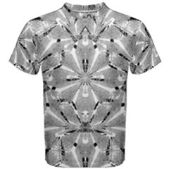 Modern Oriental Ornate Men s Cotton Tee by dflcprintsclothing