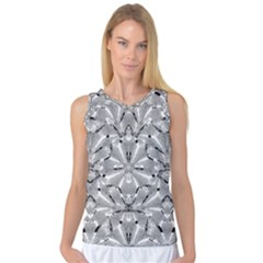 Modern Oriental Ornate Women s Basketball Tank Top by dflcprintsclothing