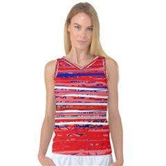 Art Women s Basketball Tank Top