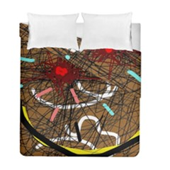 Art Duvet Cover Double Side (full/ Double Size)
