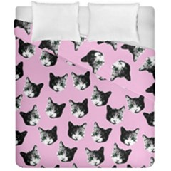 Cat Pattern Duvet Cover Double Side (california King Size)