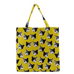 Cat Pattern Grocery Tote Bag