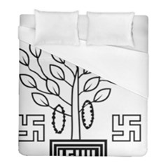 Seal Of Indian State Of Bihar  Duvet Cover (full/ Double Size) by abbeyz71