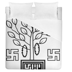 Seal Of Indian State Of Bihar Duvet Cover (queen Size) by abbeyz71