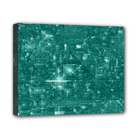 /r/place Emerald Canvas 10  X 8  by rplace