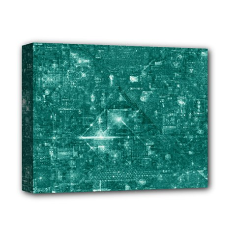 /r/place Emerald Deluxe Canvas 14  X 11  by rplace