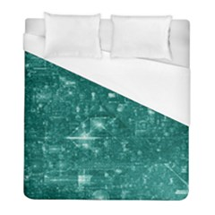 /r/place Emerald Duvet Cover (full/ Double Size) by rplace