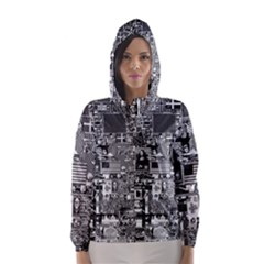 /r/place Retro Hooded Wind Breaker (women) by rplace