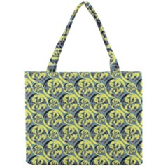 Black And Yellow Pattern Mini Tote Bag by linceazul