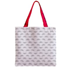Pop Art Style Crabs Motif Pattern Blob Grocery Tote Bag by dflcprints