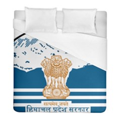 Seal Of Indian Sate Of Himachal Pradesh Duvet Cover (full/ Double Size) by abbeyz71