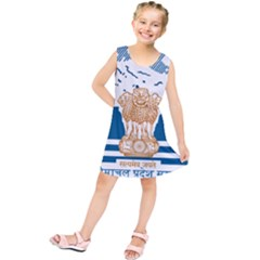 Seal Of Indian Sate Of Himachal Pradesh Kids  Tunic Dress by abbeyz71