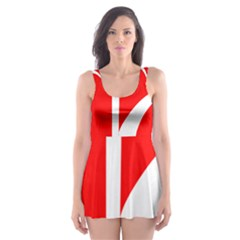 Flag Of Indian State Of Jammu And Kashmir Skater Dress Swimsuit by abbeyz71