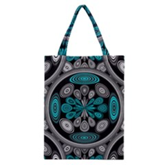 Geometric Arabesque Classic Tote Bag by linceazul