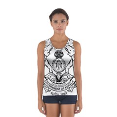 Seal Of Indian State Of Kerala Women s Sport Tank Top  by abbeyz71