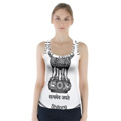 Seal Of Indian State Of Meghalaya Racer Back Sports Top by abbeyz71