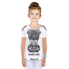 Seal Of Indian State Of Meghalaya Kids  One Piece Tee by abbeyz71