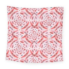 Geometric Harmony Square Tapestry (large) by linceazul