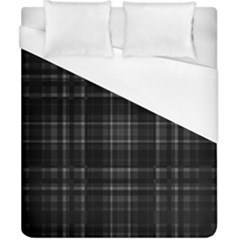 Plaid Design Duvet Cover (california King Size) by Valentinaart