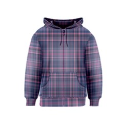 Plaid Design Kids  Zipper Hoodie