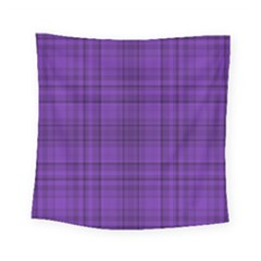 Plaid Design Square Tapestry (small) by Valentinaart
